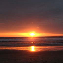 ecuador monta sunset lapunta beach