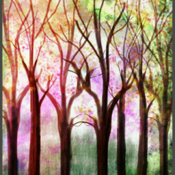 wdptreeline trees digitaldrawing 100