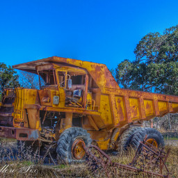 dumptruck rusty texascountryroadfind retired tonkatruck