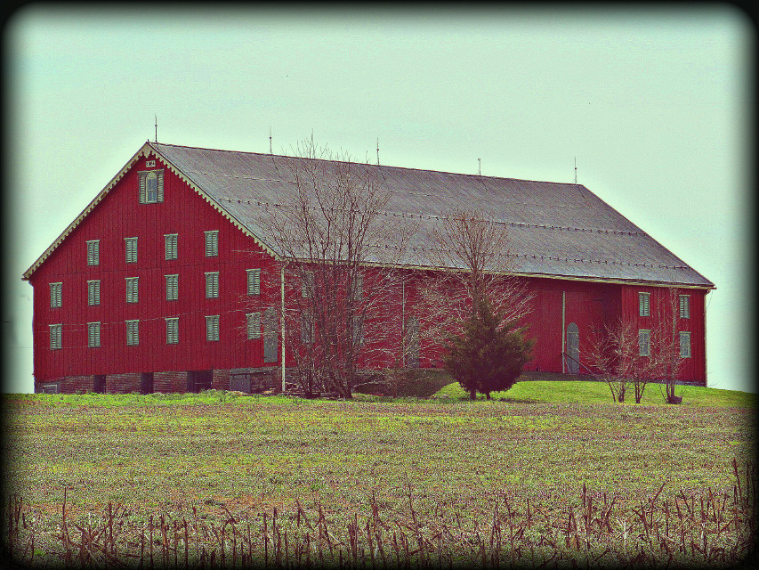#barn  #Red
