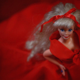 red doll barbie featured