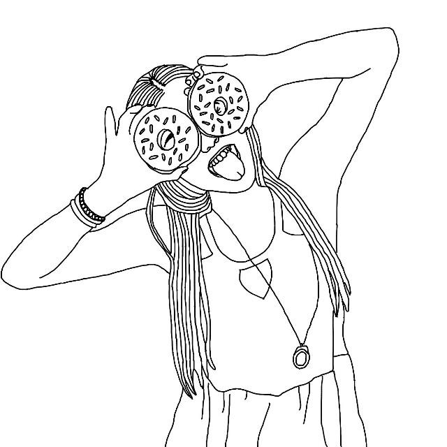More doodling☺️ #art #doodle #aspyn #ovard #donuts #drawing