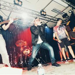 photography concert live metalband