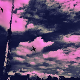 cloud pink sky myshot photography