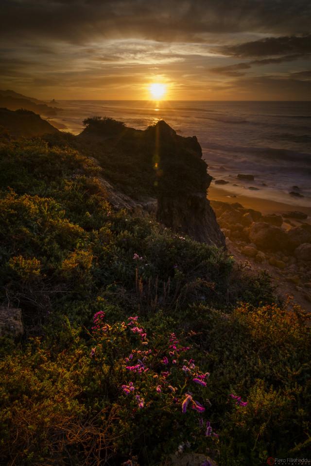 غروب #safi #morocco #rocks #cliffs #sun #sunset #windy #sea #seascape #sky #clouds #tokinalens #canon #landscape #winter #travel #summer #spring #photography #nature #freetoedit #flower #emotions #colorsplash #colorful #beach