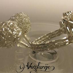 vozlarije wirejewelry handmmade earrings ring