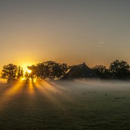 rays netherlands landscape freetoedit