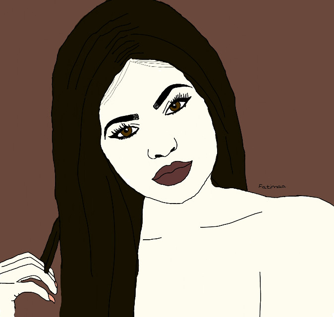 @officialkyliejenner   hope you like it     #kylie #kyliejenner #outline #post #@outline_2k16