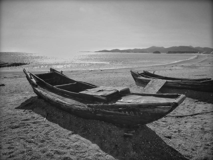 #blackandwhite #photography #boats #china