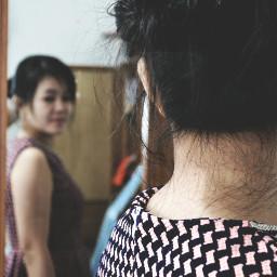 blur girl woman potrait photography