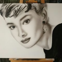 blackandwhite art portrait artist artphotography