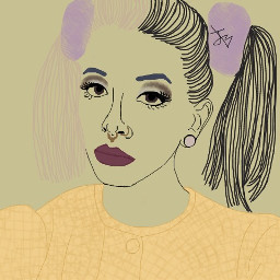 interesting art people mauve melaniemartinez freetoedit