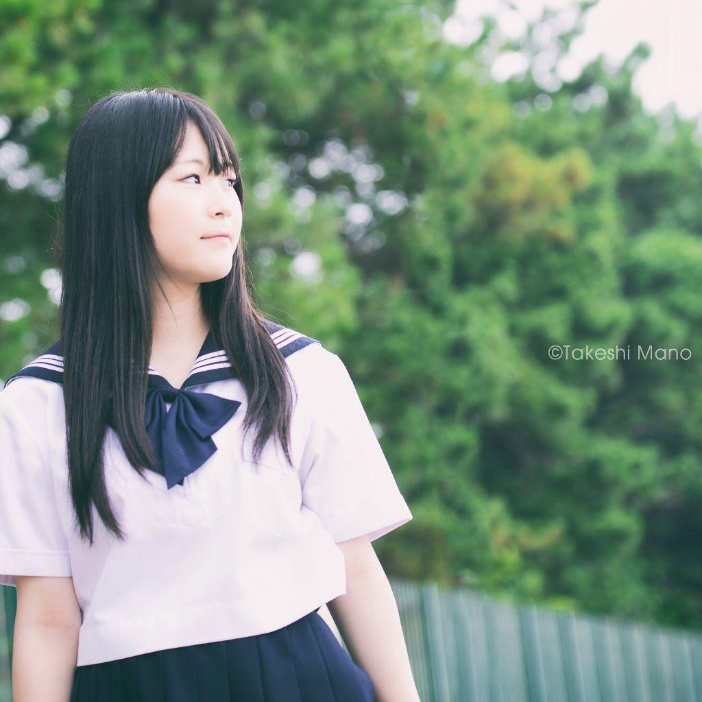 Memories  #girl #model #portrait #schoolgirl #summer #memories #green