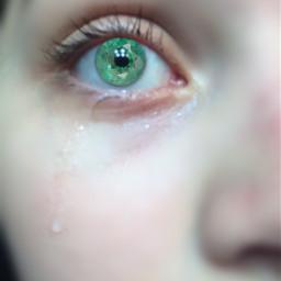 eye emerald art gem tear