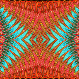 patterns geometric mirrormania turquoise pink