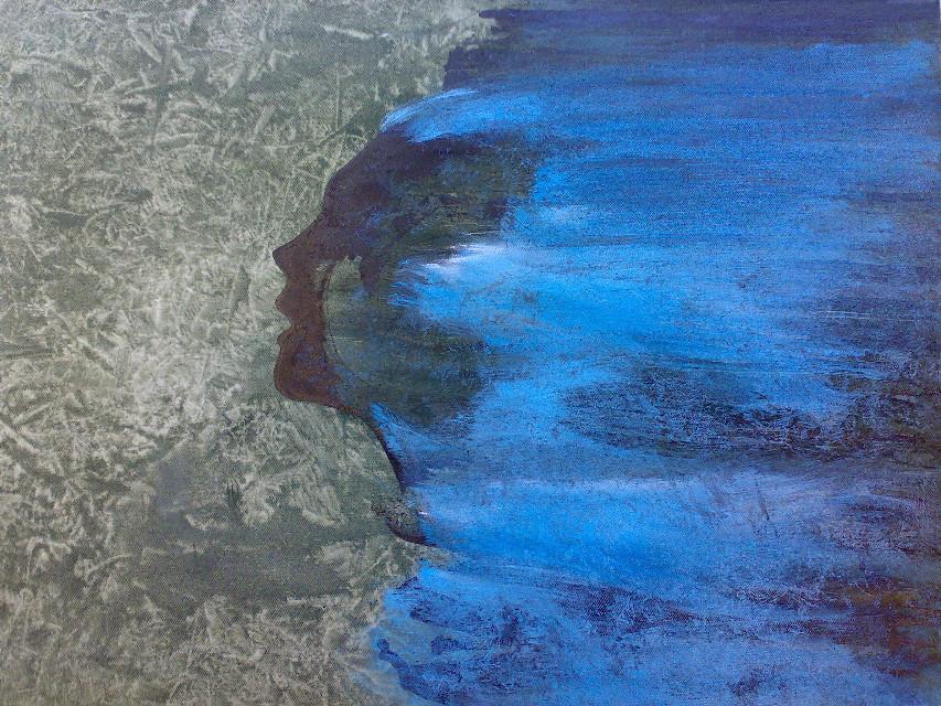Europa (2008)...  #oil #ink #lienzo #drawing #figurative #europe
