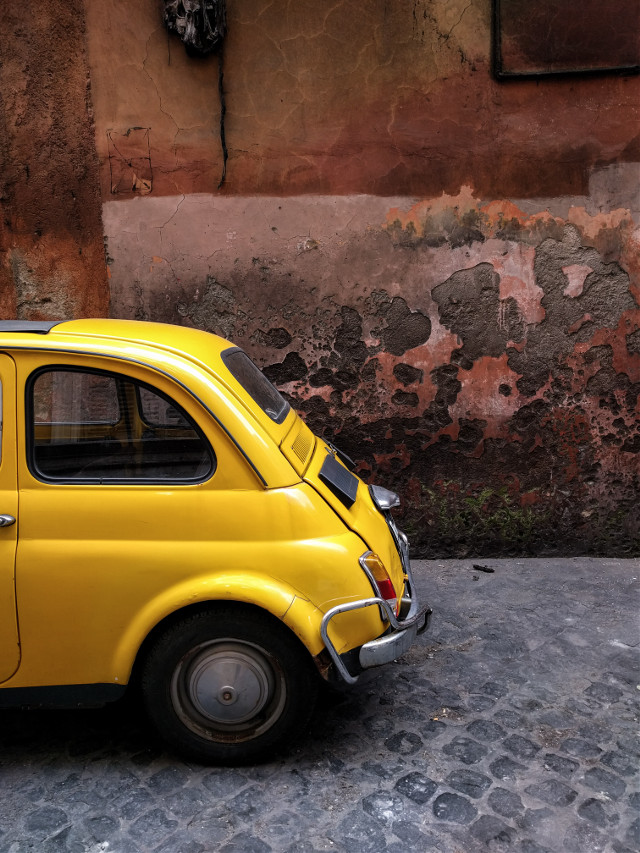 Fiat 500 ❤ #oldphoto #photography #travel #vintage #streetphotography #retro #photography #street_photo_club #streetdreamsmag #travelphotography #justgoshoot #streets #vsco #streetlife #urbanart #colorful #colorsplash