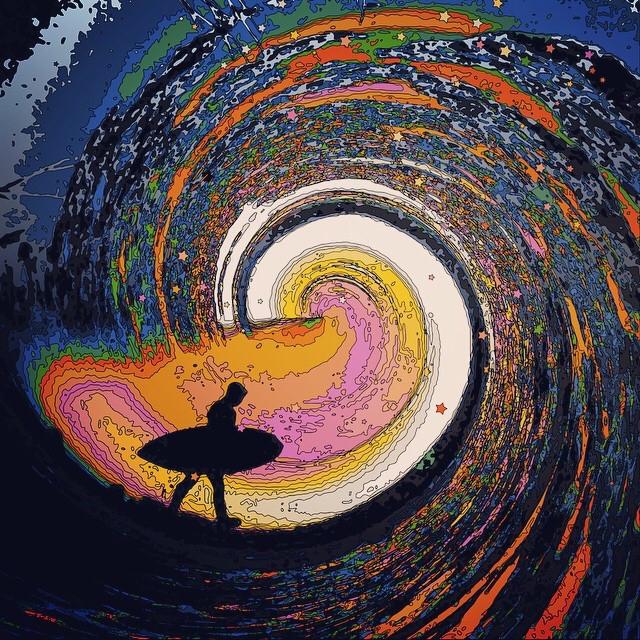 The big one #art #interesting #beach #surf #surfer #waves #illusion  Say hi on Instagram @alijardine