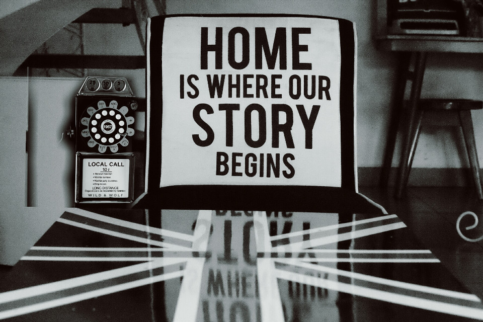 HOME #photography #oldphoto #quotesandsayings