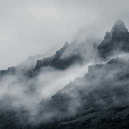 freetoedit nature mountains mountain fog