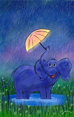 wdprainyday drawing art contest elephant