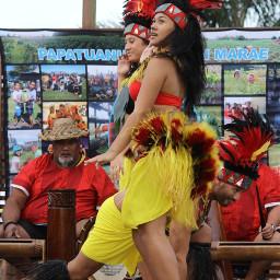 auckland newzealand sunset tahitiandancers papatuanukukokirimarae