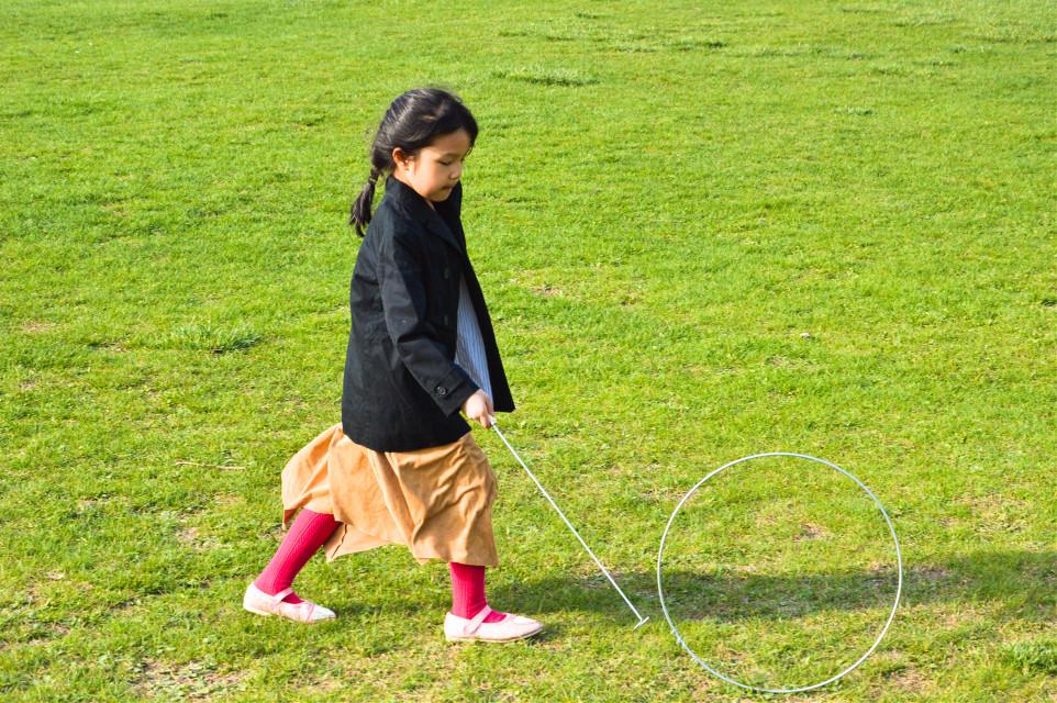 #girl #child #play #spring