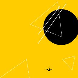digitaldrawing yellow geometry emotions myth