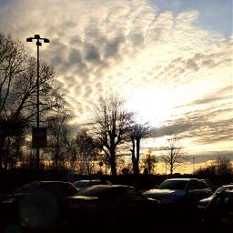 clouds emotions photography parkingarea