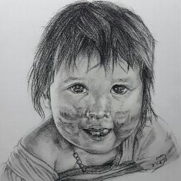 cute pencilart ee