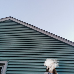 cloud edit simple sky house