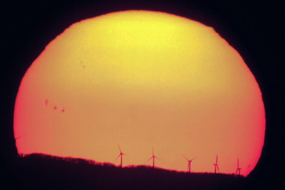 #sunset #sun #sunspots #windrose #meade #meadelx200 #sony