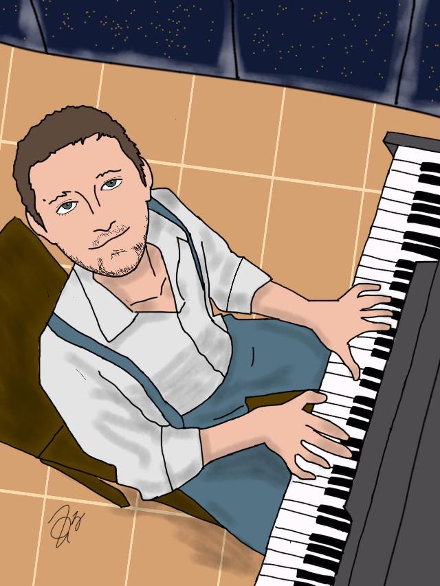 #drawing #art #piano