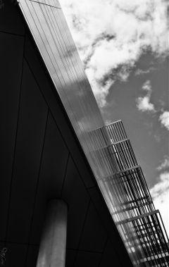 triangles blackandwhite architecture