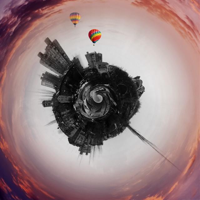 #fisheye #city #tumo #sky #sunset #fly #photography #edit #madewithpicsart #clipart            #FreeToEdit