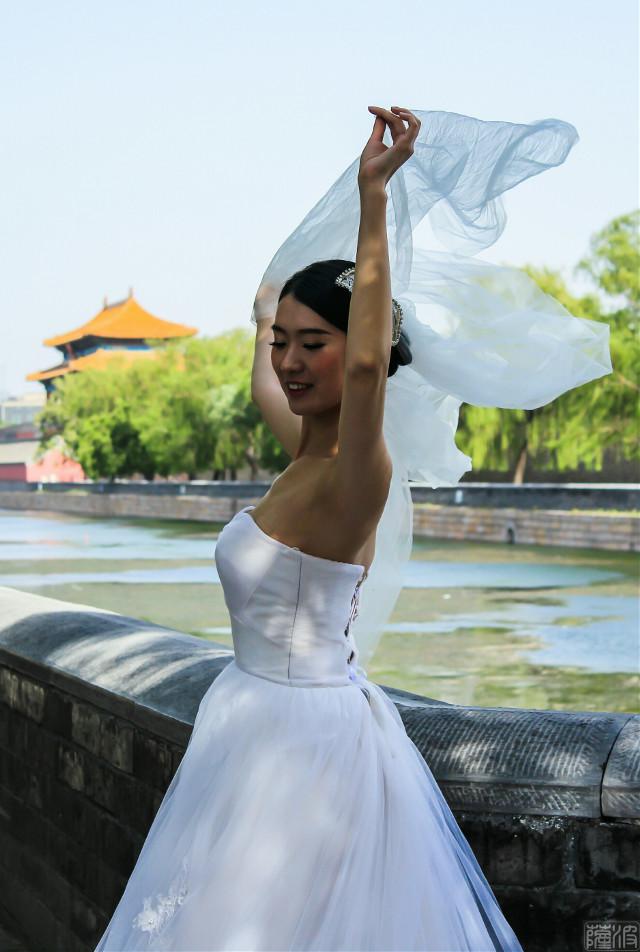 #people #beautiful #bride #spring