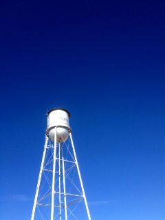 minimal watertower sky blue texas freetoedit