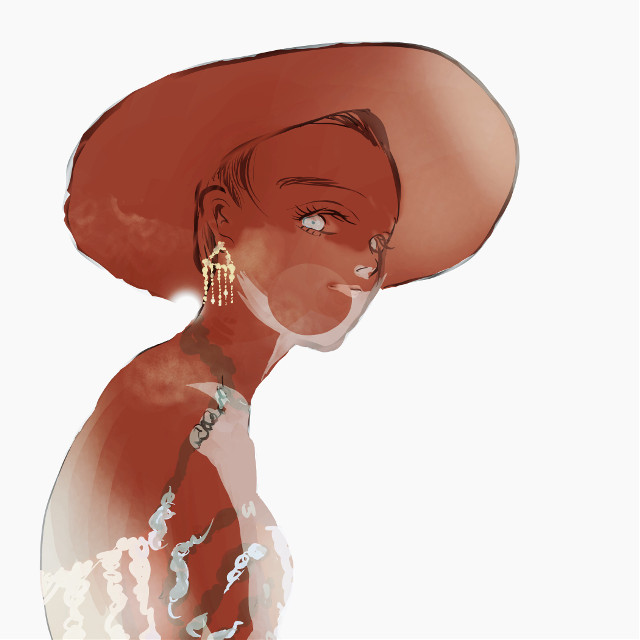 #art #illustration #drawing #character #woman