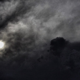 photography sky moon clouds black